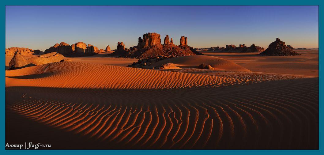 Alzhir. Fotografii 012 - Флаги стран мира в HD! Цвета, значение и символика флагов - Алжир DZ
