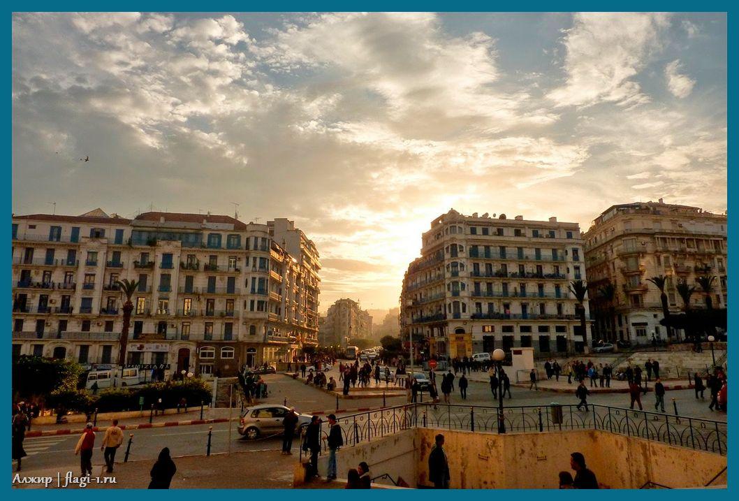 Alzhir. Fotografii 022 - Флаги стран мира в HD! Цвета, значение и символика флагов - Алжир DZ