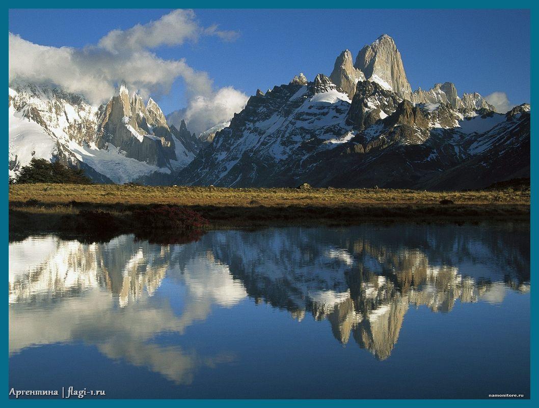Argentina. Fotografii 018 - Флаги стран мира в HD! Цвета, значение и символика флагов - Аргентина   AR