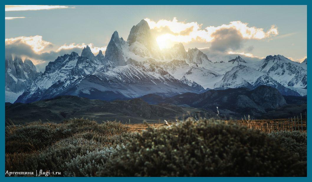 Argentina. Fotografii 023 - Флаги стран мира в HD! Цвета, значение и символика флагов - Аргентина   AR
