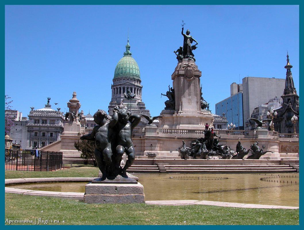 Argentina. Fotografii 024 - Флаги стран мира в HD! Цвета, значение и символика флагов - Аргентина   AR