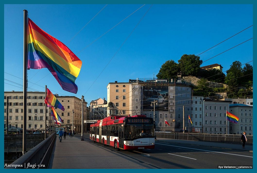 Avstriya. Fotografii 035 - Флаги стран мира в HD! Цвета, значение и символика флагов - Австрия | AT