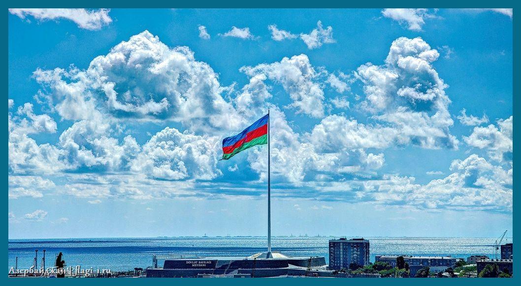 Azerbajdzhan. Fotografii 008 - Флаги стран мира в HD! Цвета, значение и символика флагов - Азербайджан | AZ