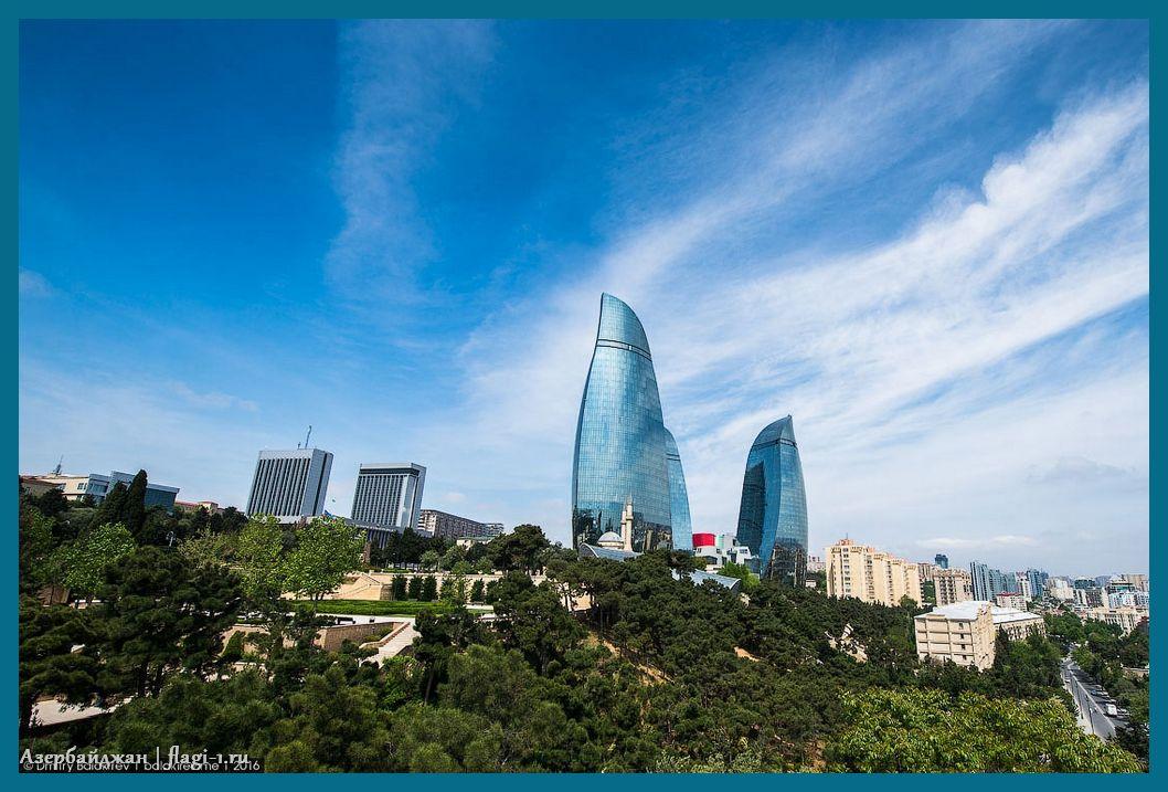 Azerbajdzhan. Fotografii 017 - Флаги стран мира в HD! Цвета, значение и символика флагов - Азербайджан | AZ