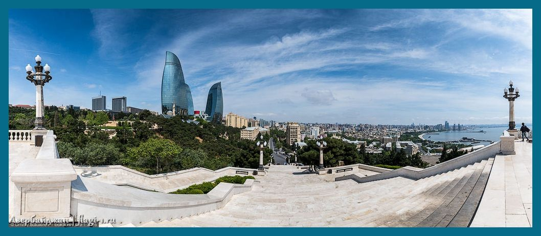 Azerbajdzhan. Fotografii 020 - Флаги стран мира в HD! Цвета, значение и символика флагов - Азербайджан | AZ