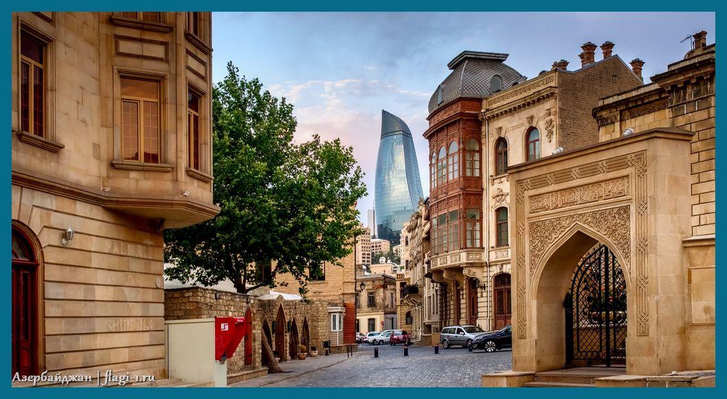 Azerbajdzhan. Fotografii 021 - Флаги стран мира в HD! Цвета, значение и символика флагов - Азербайджан | AZ