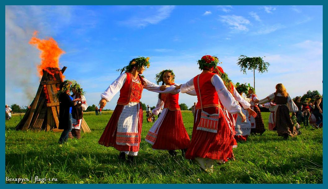 Belarus. Foto 016 - Флаги стран мира в HD! Цвета, значение и символика флагов - Беларусь | BY
