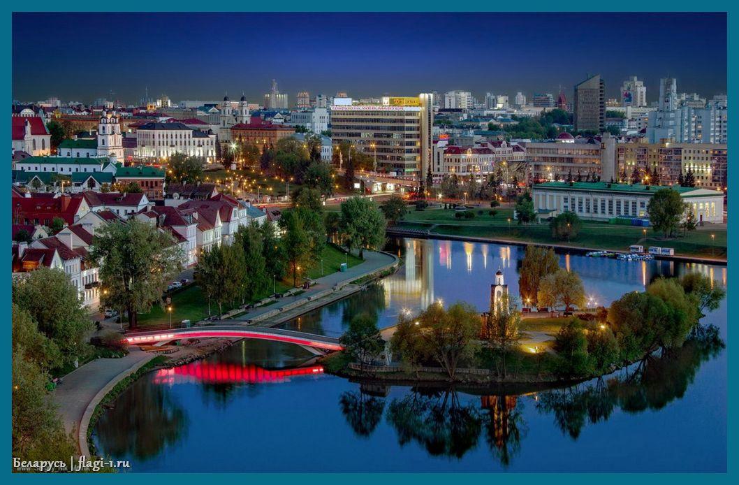 Belarus. Foto 018 - Флаги стран мира в HD! Цвета, значение и символика флагов - Беларусь | BY