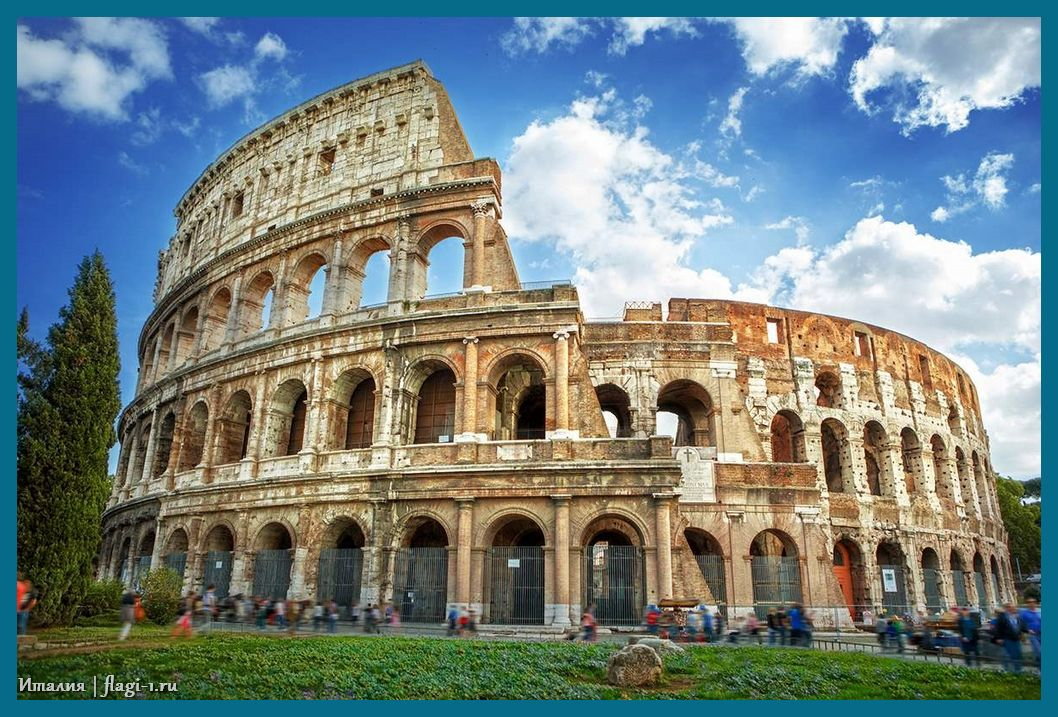 Italiya. Fotografii 007 - Флаги стран - Италия | IT