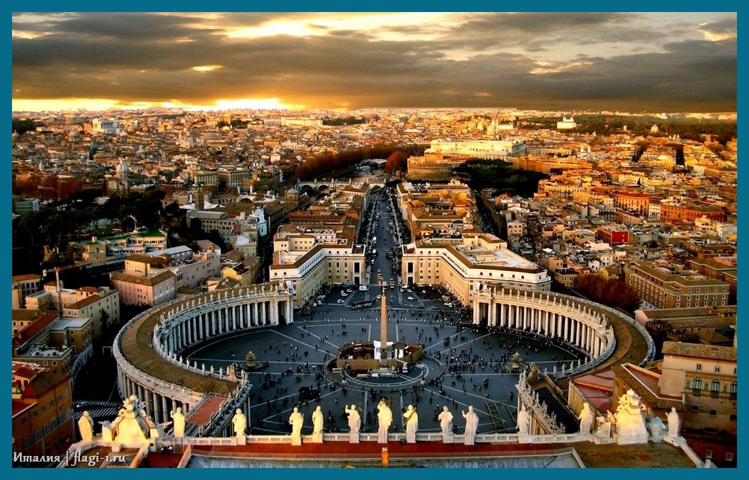Italiya. Fotografii 046 - Флаги стран - Италия | IT