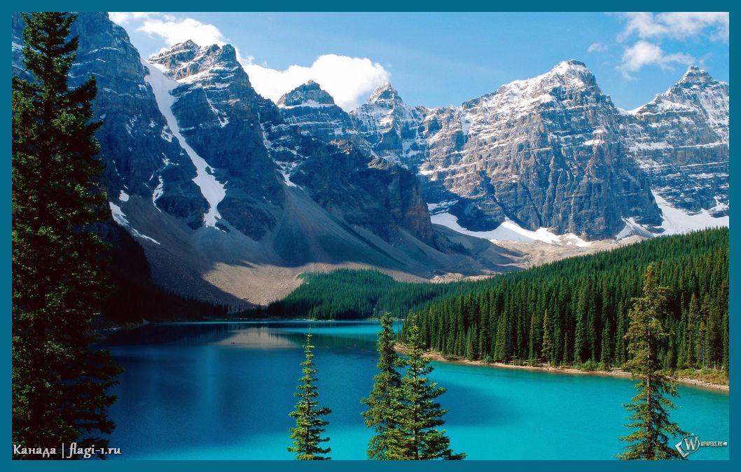 Kanada. Fotografii 025 - Флаги стран мира в HD! Цвета, значение и символика флагов - Канада | CA