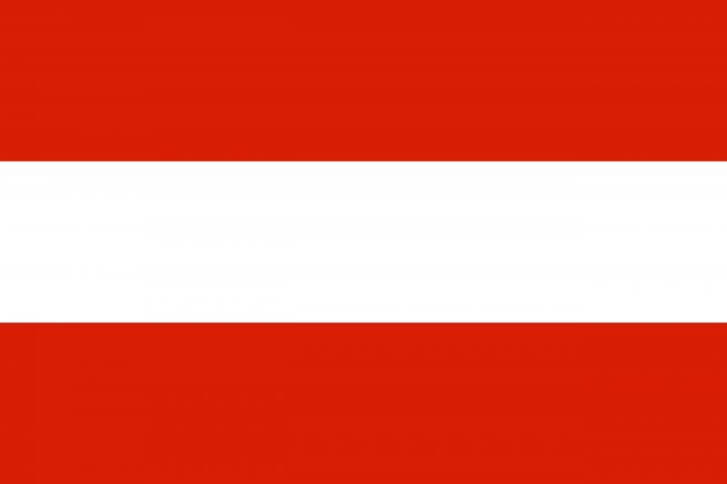 at - Флаги стран мира в HD! Цвета, значение и символика флагов - Австрия   AT