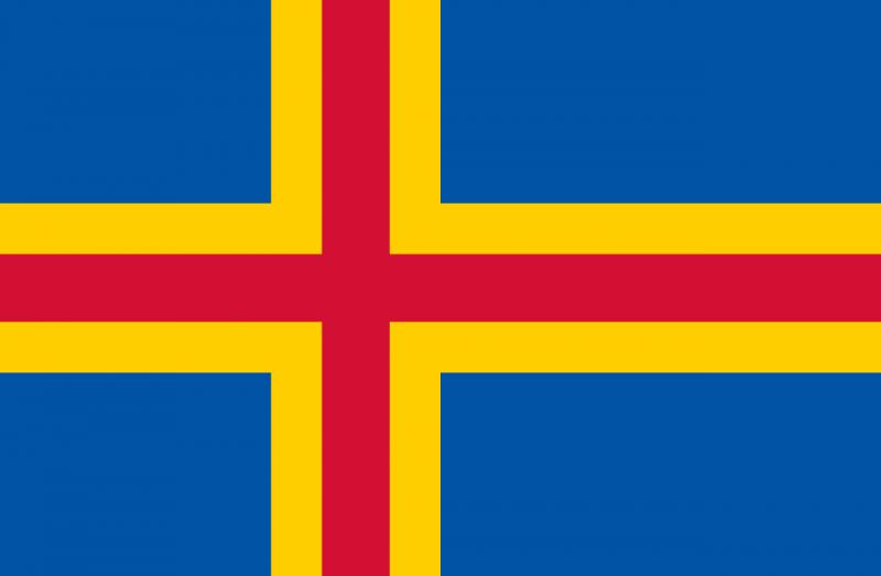 ax - Флаги стран мира в HD! Цвета, значение и символика флагов - Аландские острова. Код ISO - AX