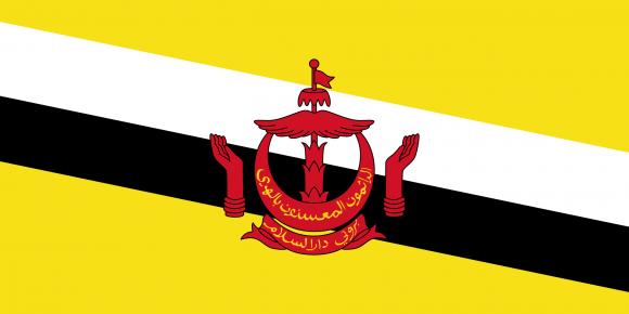 bn 1 - Флаги стран мира в HD! Цвета, значение и символика флагов - Бруней | BN