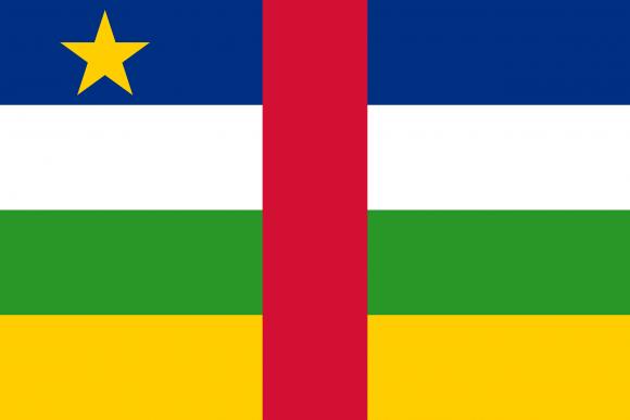 cf 1 - Флаги стран - Центральноафриканская Республика | CF