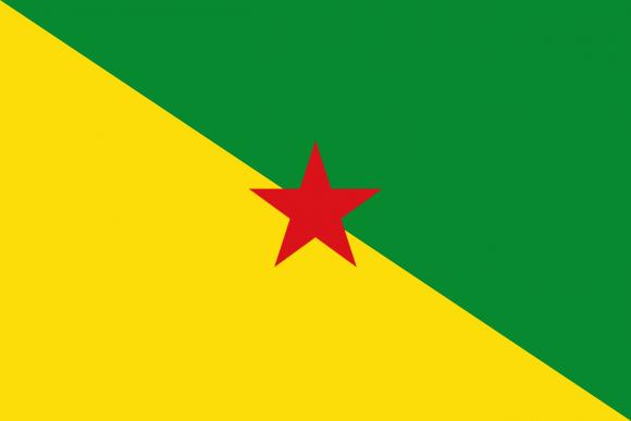 Флаг движения за свободную Французскую Гвиану