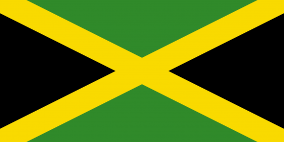 jm 1 - Флаги стран - Ямайка JM