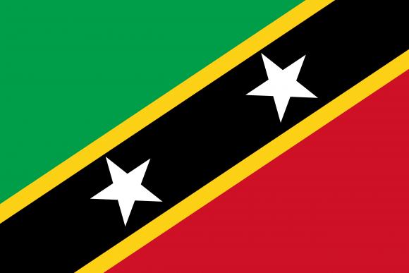 kn 1 - Флаги стран - Сент-Китс и Невис | KN