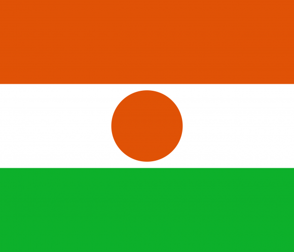 ne 1 - Флаги стран - Нигер NE
