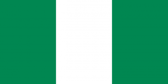 ng 1 - Флаги стран - Нигерия NG