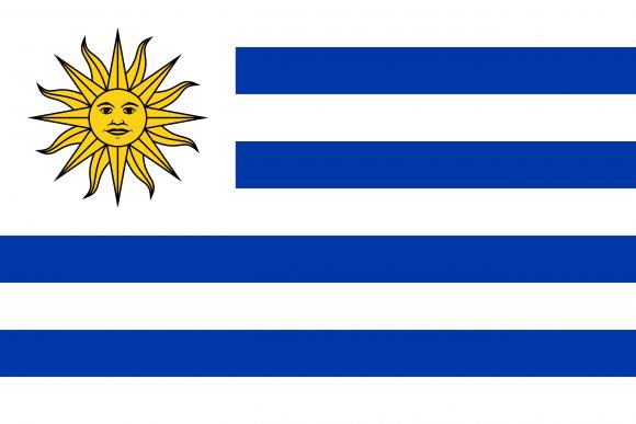 uy 1 - Флаги стран мира в HD! Цвета, значение и символика флагов - Уругвай | UY