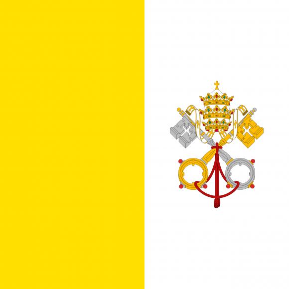 va 1 - Флаги стран мира в HD! Цвета, значение и символика флагов - Папский Престол (Ватикан) | VA