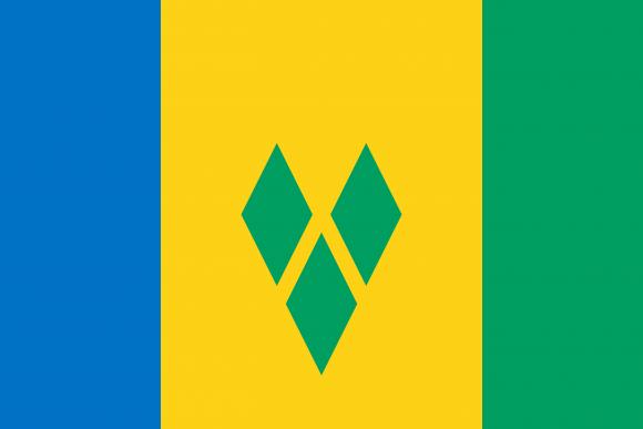 vc 1 - Флаги стран - Сент-Винсент и Гренадины | VC