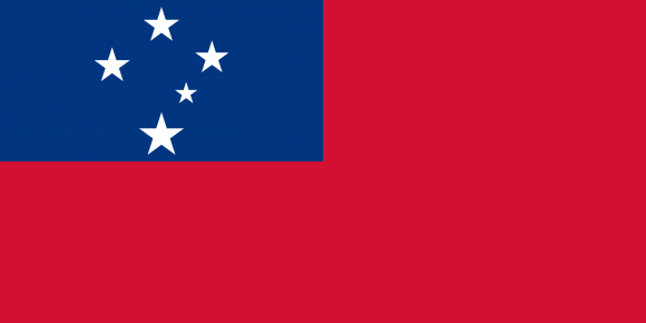ws 1 - Флаги стран мира в HD! Цвета, значение и символика флагов - Самоа | WS