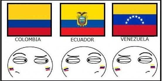 1448880595112161318 - Флаги стран - Похожие флаги стран мира (картинка, trollface, мемы)