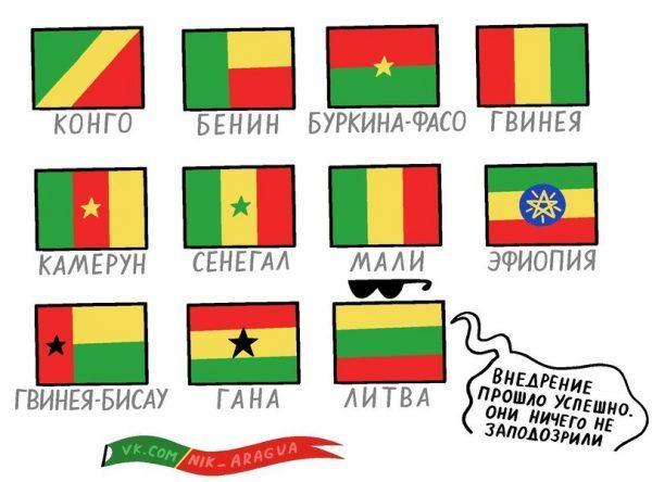 1452961165165791689 - Флаги стран мира в HD! Цвета, значение и символика флагов - Континент - что такое и сколько их на Земле